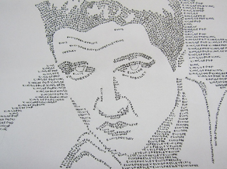 Elvis typography