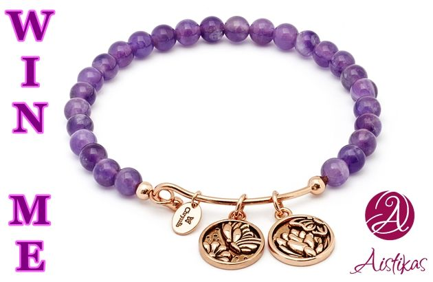 Win a wonderful Chrysalis expandable bangle with power enhancing charms. Click to register below! The winner is announced on Monday March the 7th 2016! Good Luck!