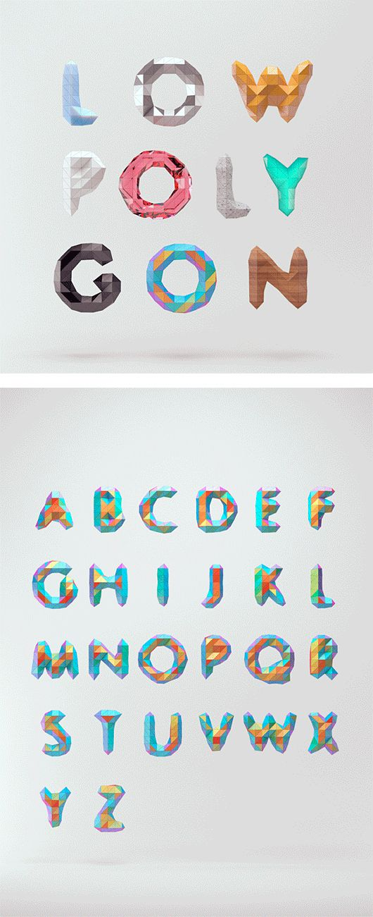Creative Typography by Mount & Star - love it, depth, weight, futuristic with a tinge of playfulness