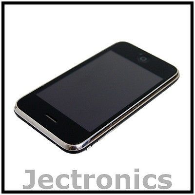 APPLE IPHONE 3GS 16GB BLACK AT&T GSM WIFI SMARTPHONE- Thin Gray Line On Screen | eBay