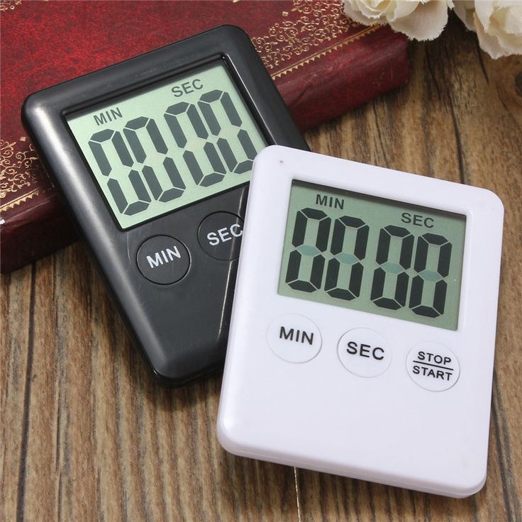 Electronic Digital LCD Magnetic Countdown Timer Count Down Egg Kitchen Cooking Tools