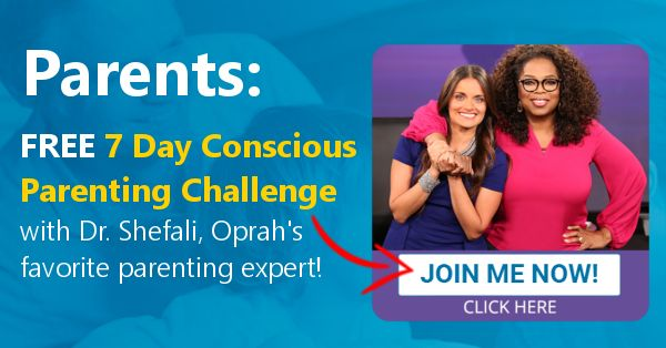 Parents, Your Children Are Counting On You. The Time To Be Your Best Is NOW. JOIN MY FREE 7 DAY Conscious Parenting Challenge Today!