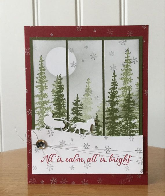 Stampin Up handmade Christmas card Christmas by treehouse05
