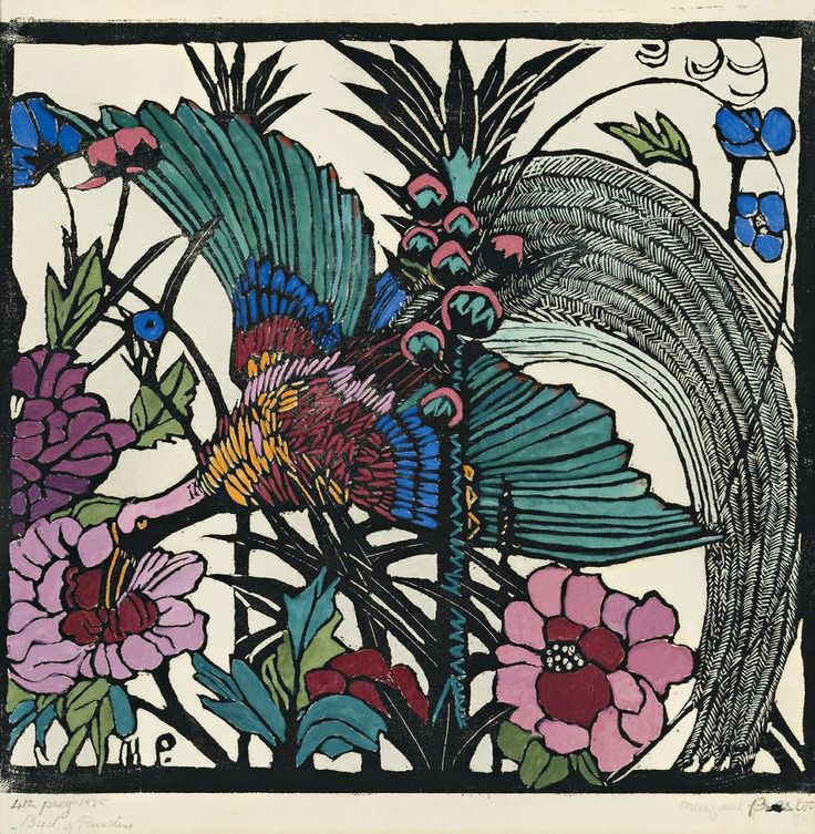 Bird of Paradise by Margaret Preston