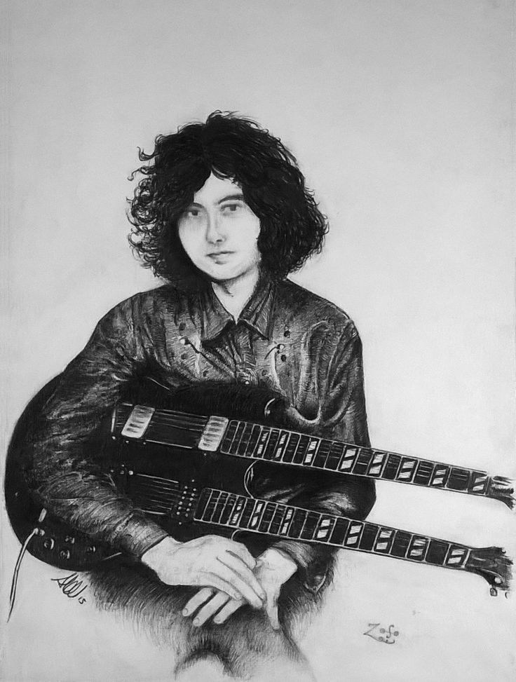 """Jimmy Page"" by calamitafrigo.deviantart.com on @DeviantArt #jimmypage #ledzeppelin #inktober #music #drawing #ink"