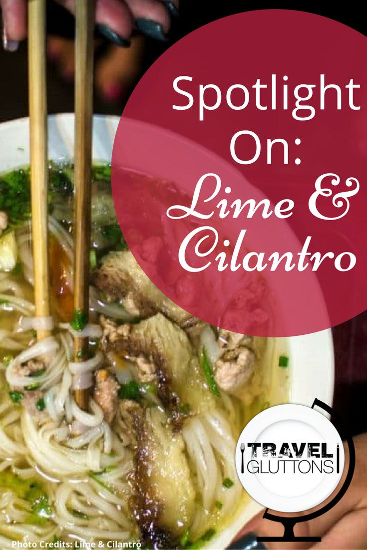 What do Westminster in Southern California and Yangon in Myanmar have in common? A lively and colorful food blog named Lime & Cilantro, winner of the 2016 SAVEUR Blog Award!