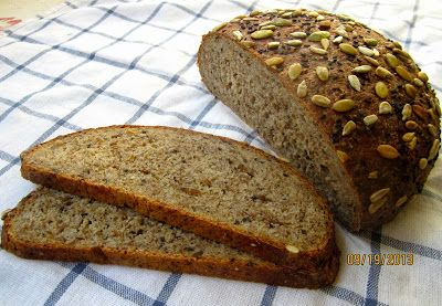 Brot & Bread: SPROUTED GRAIN BREAD