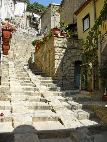 Castelmezzano (PZ) - Dolomiti Lucane  , province of Potenza Basilicata. I think this is handicap approved too! Smart engineers.