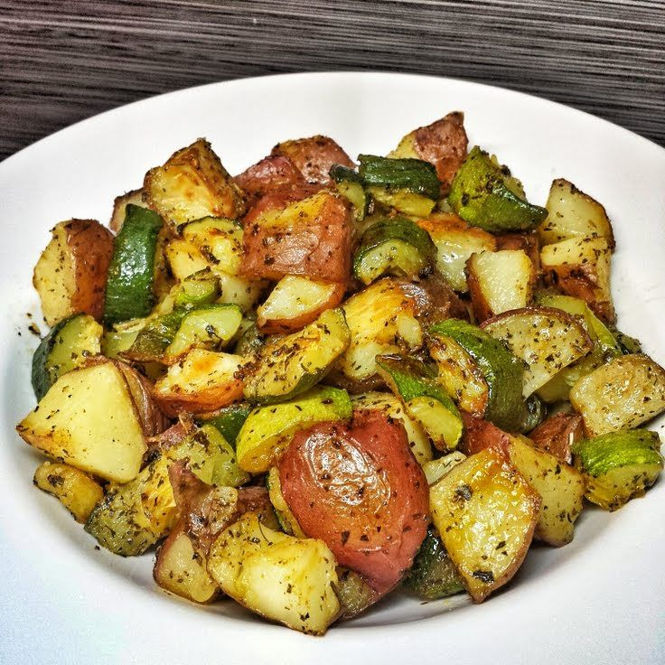 "Roasted Zucchini and Red Potatoes! """"  @allthecooks #recipe"