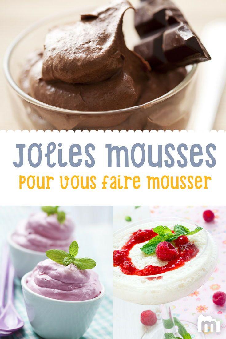 Recette De Mousse Chocolat Pinterest Dessert Mousse Recette