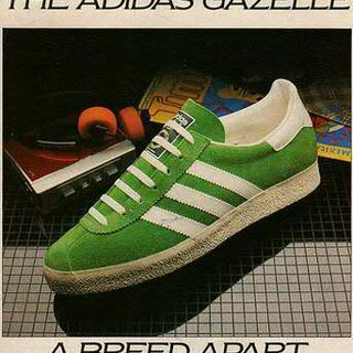 Vintage Adidas ad (check out the sweet Walkman in the background)