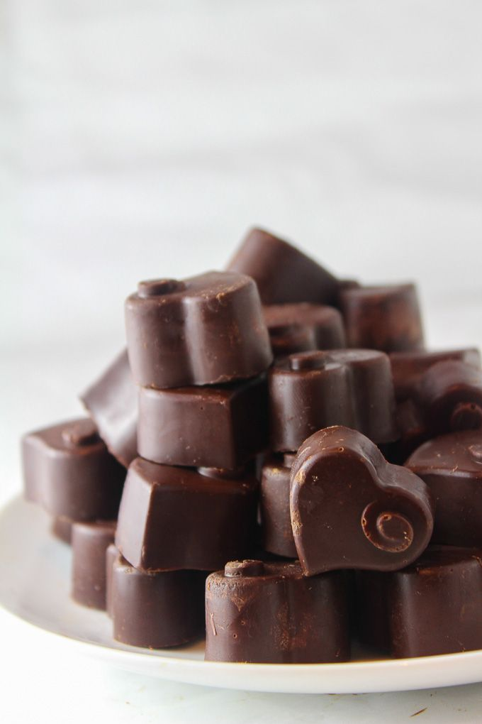 Homemade Dark Chocolate + five reasons to eat more chocolate! Gluten Free & Paleo Recipe