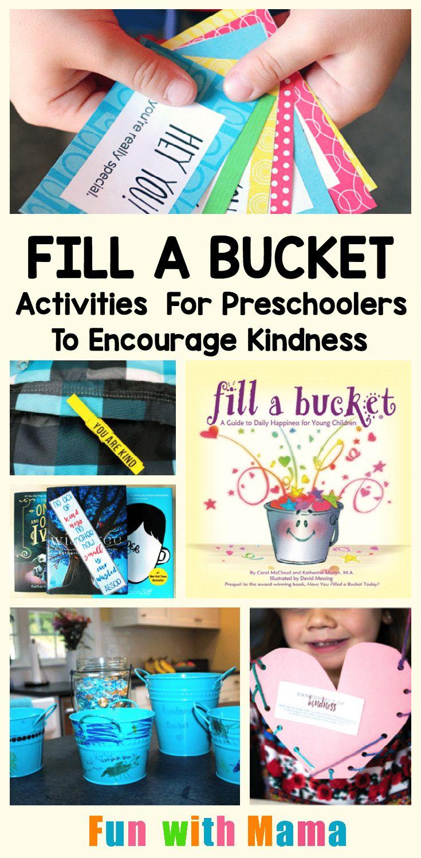 Bucket Filler Activities For Preschoolers To Encourage Kindness – Education