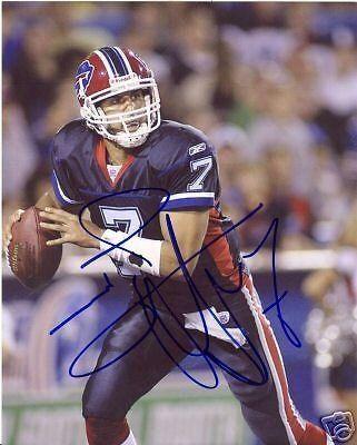 J.P. Losman Buffalo Bills Footballs
