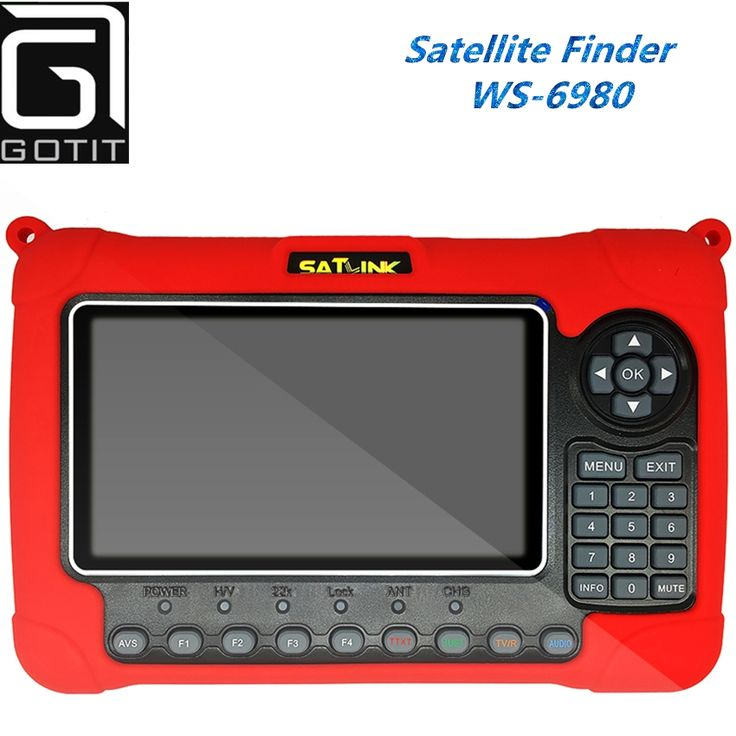 300.00$  Watch here - http://aliwvp.worldwells.pw/go.php?t=32699283540 - [Genuine] Satlink WS-6980 7inch HD LCD Screen DVB-S2&DVB-T/T2&DVB-C Combo Finder 6980 with Spectrum Analyzer constellation 300.00$