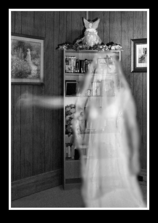a ghost caught on camera