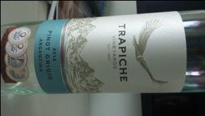 Pinot Grigio Argentina Trapich