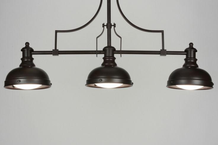 Huisdecoratie interieur verlichting . Verlichting voor woonkamer eettafel keuken tafel  .  Landelijke retro hanglamp . Belgium .  Shop nu via deze Link en zie al onze lampen bij : www.rietveldlicht.be Keuze uit meer dan 3000 artikelen.