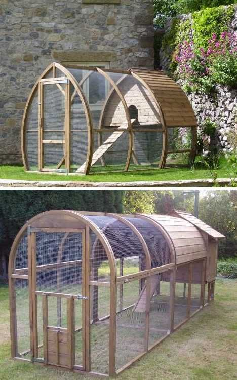Great rabbit home ideas a collection of ideas to try for Chicken enclosure ideas