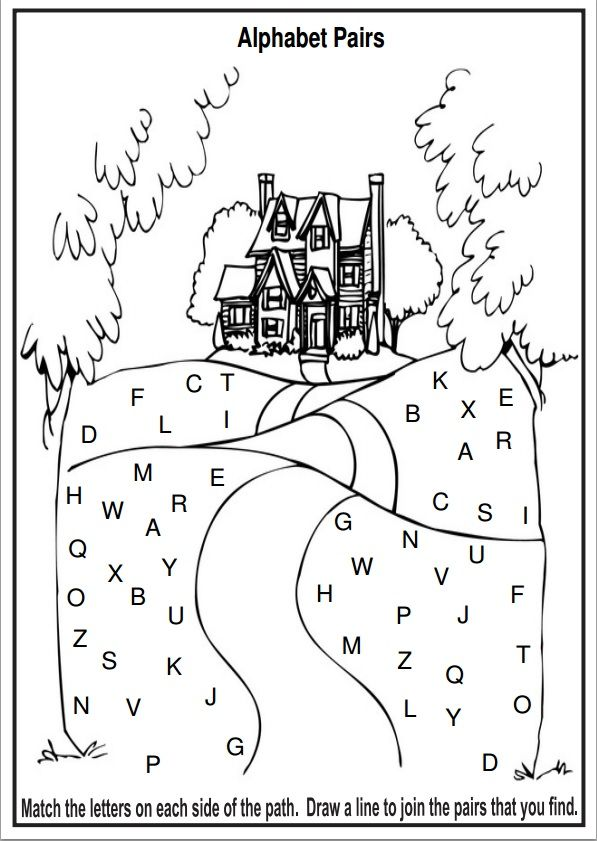 Here are five free alphabet worksheets and extension
