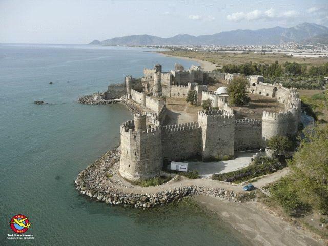Crusader Castle, Turkey | Myth & Legend, Crusader Mamure Castle Anamur