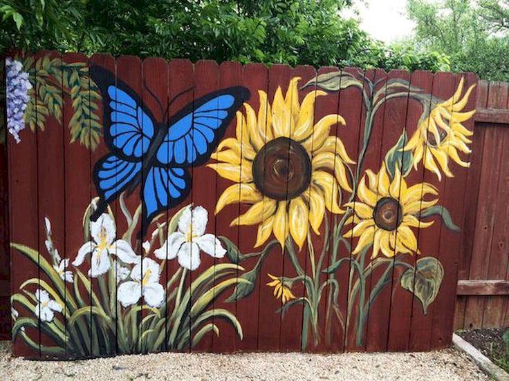 Картинки рисунков на заборе