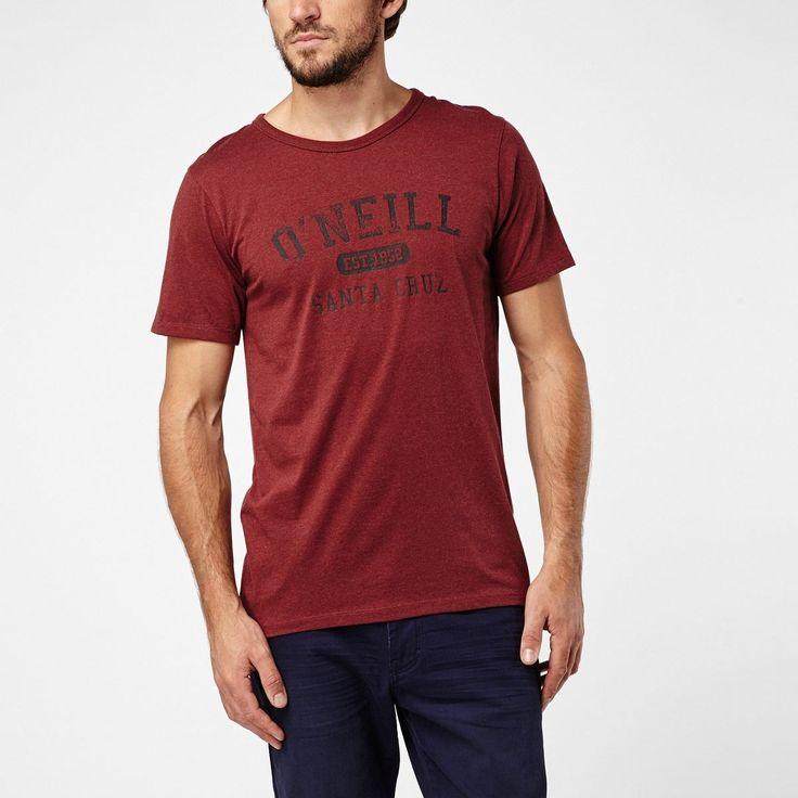Camiseta O'neill Santa Cruz Melange Hombre #camiseta #oneill #verano #moda