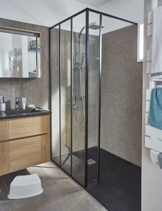 Salle De Bain Ouverte Sur Chambre Humidité : … le prix d un de cloison anti humidité 8 1 leroy merlin salle de bains