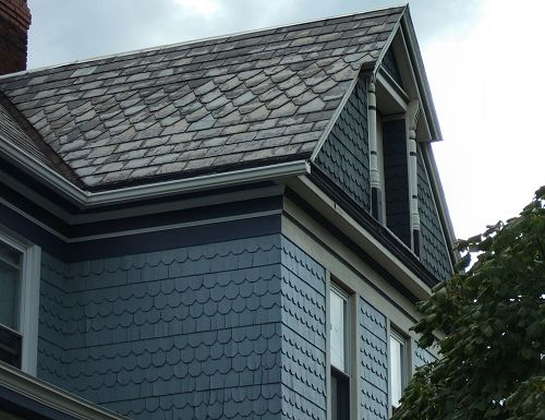 61 best images about construction materiaux on pinterest for Victorian shingles