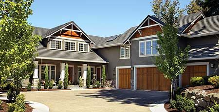 The 25 best l shaped house plans ideas on pinterest l for L shaped craftsman home plans