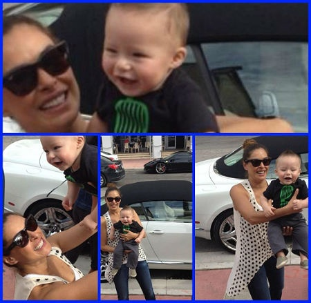 Las imágenes más divertidas de Galilea Montijo y su pequeño hijo, Mateo