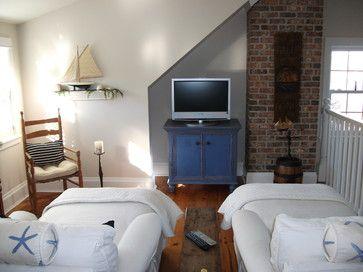 Seaside TV loft - eclectic - media room - other metro - Ocean Interiors