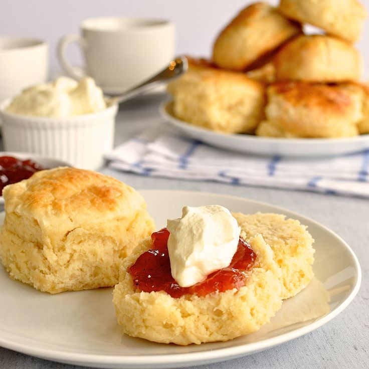 Moist, fluffy scones from scratch, made with only 3 ingredients! Truly, cross my heart.
