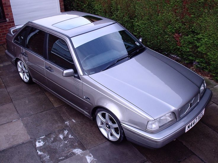 "1994 Volvo 440 2.0i SE. Lowered 40mm, colour coded door and bumper strips, custom clear blinkers, 1996 spec rear lights and number plate panel. 17"" TSW EVO-R alloys and a custom made stainless-steel exhaust with 4"" rolled tip. Big stereo in the boot too!"