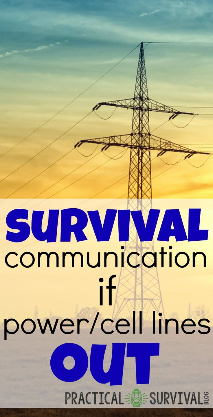 Everyone, at some time in their life, has experienced a power outage but may think they're safe with adequate communication if they have a portable charger and cell phone. The charger allows you to stay in touch by keeping your cell phone charged is one method