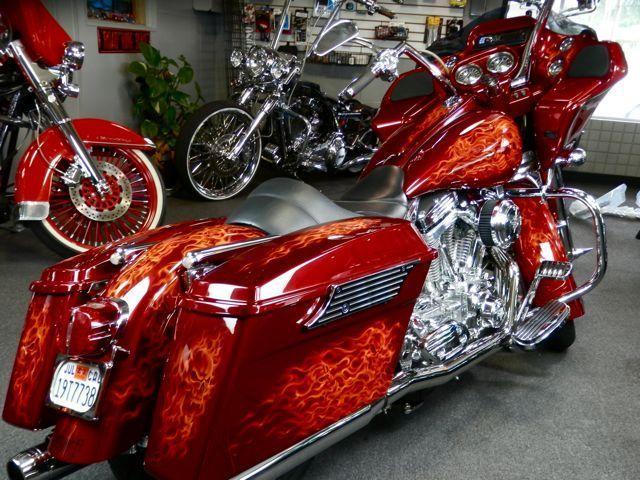 Harley-Davidson : Touring FLTRI Road Glide Motorcycle 106 Cubic Inch Engine Original Owner Bagger Dresser