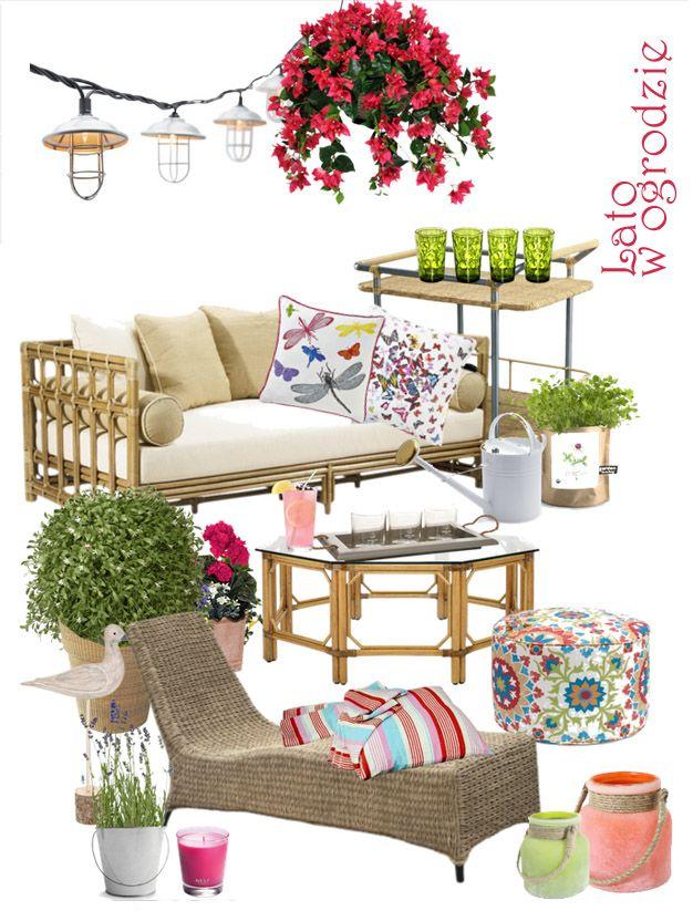 Inspiracje dla pięknego domu: kolaż z produktami ze sklepu Decolor.pl; autor: Anna Wrzesińska