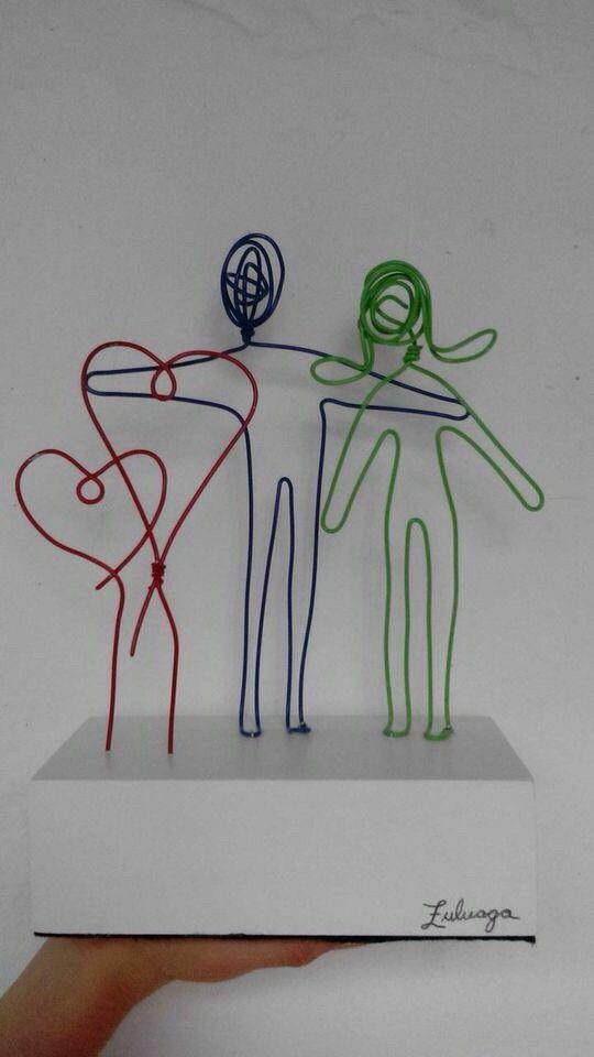 Escultura de Familia