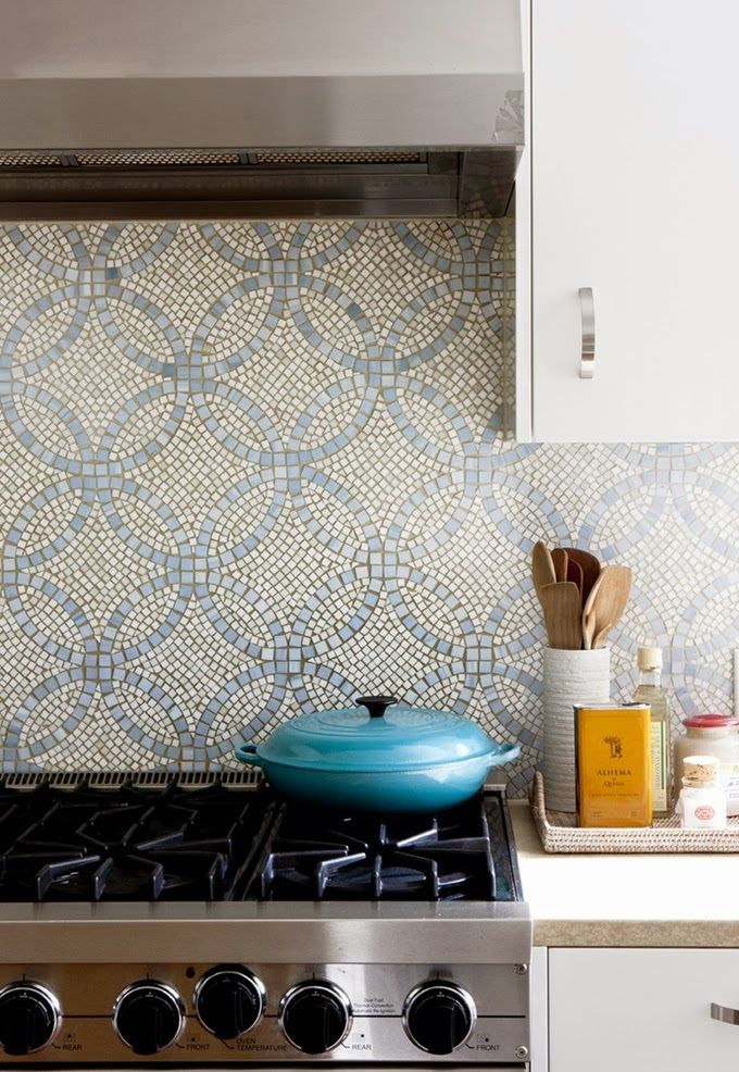 LOVE the feel of this tile design, not overbearing but still visually interesting