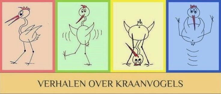 En dit is mijn blog met grappige verhalen en grappige tekeningen over kraanvogels.