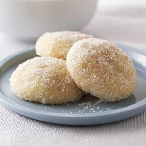 Cardamom Tea Cookies There's just 1 gram of fat in each of these sweet little cookies. Enjoy them for dessert or a snack.