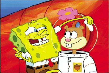 Spongebob x Sandy<3
