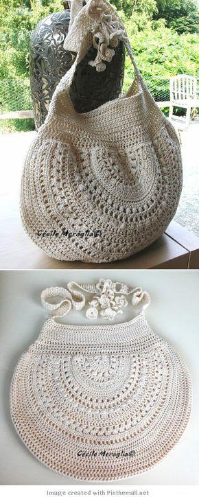 crochet - bag - like the half circle