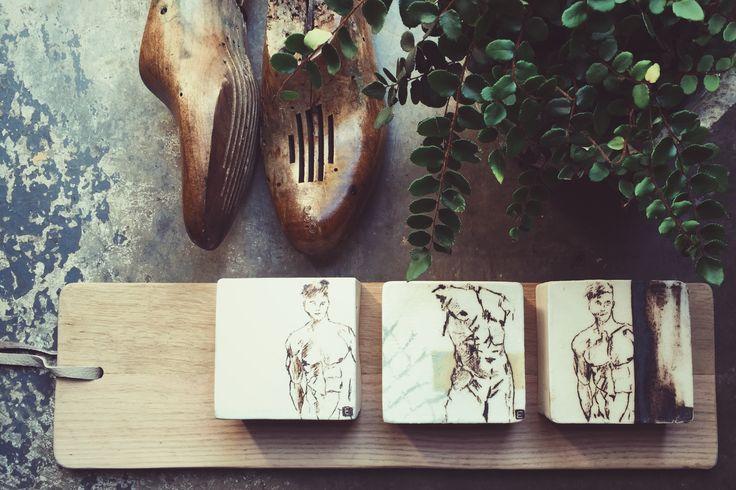 Ceramic art blocks #malefigure
