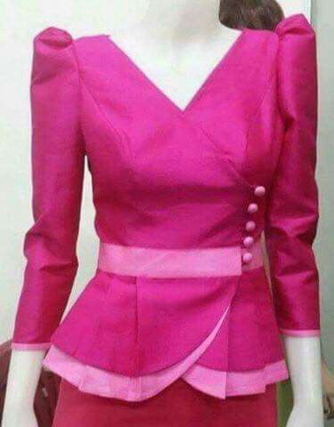 Blus pink pinterest