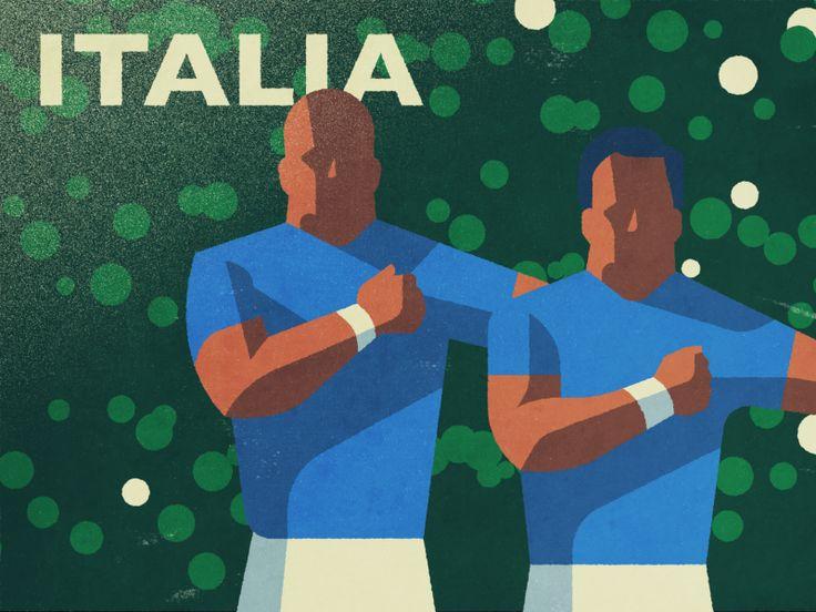 Italia Rugby by Fraser Davidson #Design Popular #Dribbble #shots