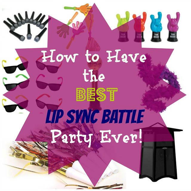 How to Have the Best Lip Sync Battle Party #lipsyncbattle