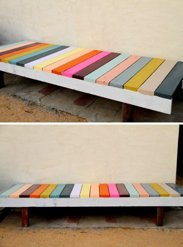 The Most Awesome 30 DIY Benches for Your Garden…