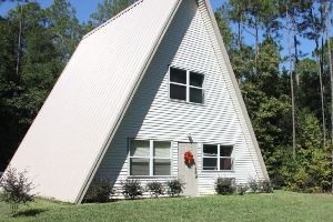 25 best ideas about a frame house kits on pinterest for Steel frame cabin