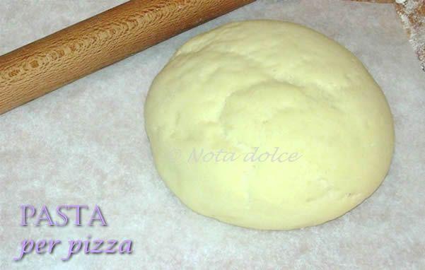 Pasta per pizza perfetta, ricetta base